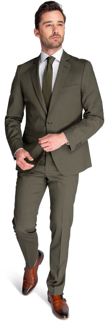 Suitable Anzug Piga Marlane Grün
