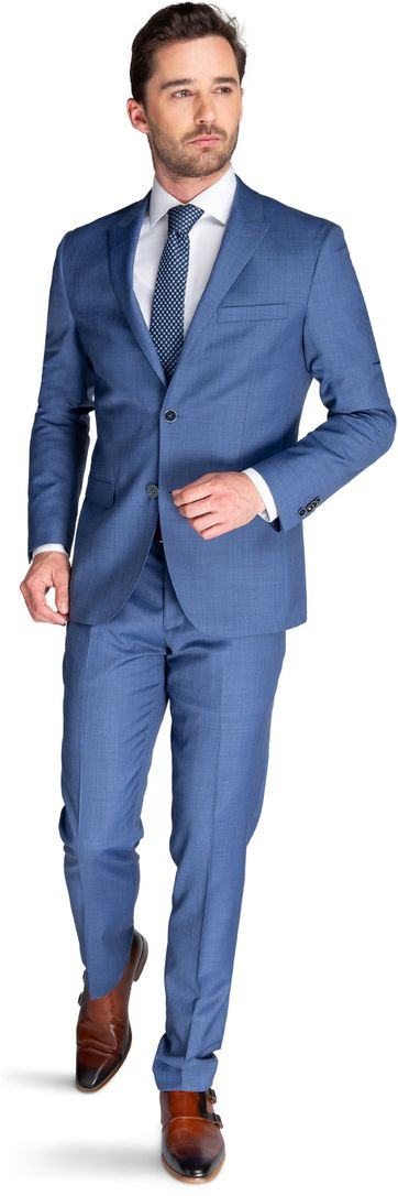 Suitable Anzug Strato Indigo