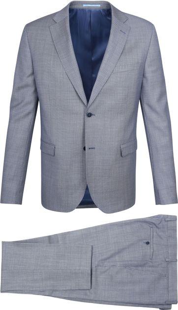 Suitable Anzug Strato Tegea Navy