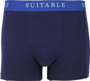 Suitable Bamboo Boxershorts 2er-Pack Dunkelblau