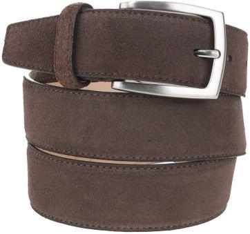Suitable Belt Suede Brown 308