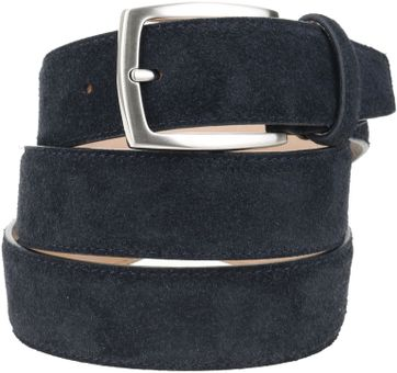 Suitable Belt Suede Dark Blue 309