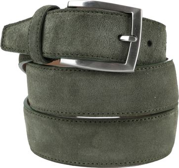 Suitable Belt Suede Green