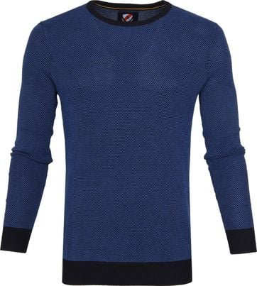 Suitable Bince Pullover Blau