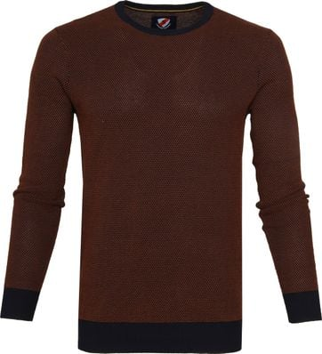Suitable Bince Pullover Braun
