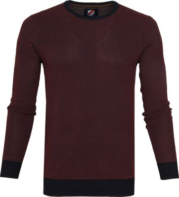 Suitable Bince Pullover Paars