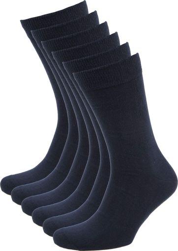 Suitable Bio-Baumwolle Socken Navy 6-Pack