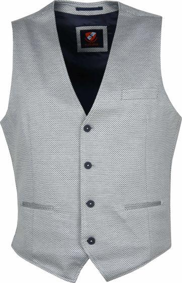 Suitable Bithlo Waistcoat Grey