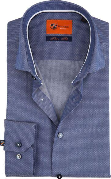 Suitable Blauw WS Overhemd