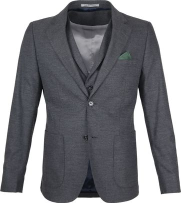 Suitable Blazer Flanell Grey