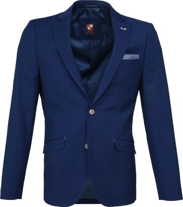 Suitable Blazer Kastri Blauw