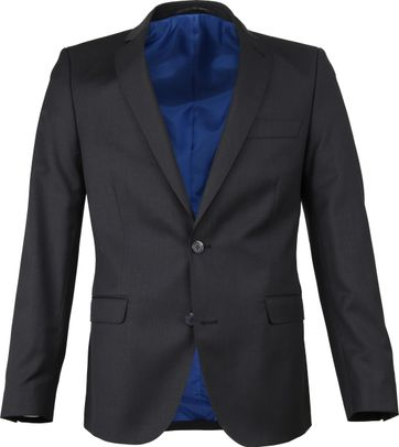 Suitable Blazer Piga Dark Grey Black