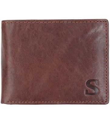 Suitable Brieftasche Dax Braun Leder - Skim Proof