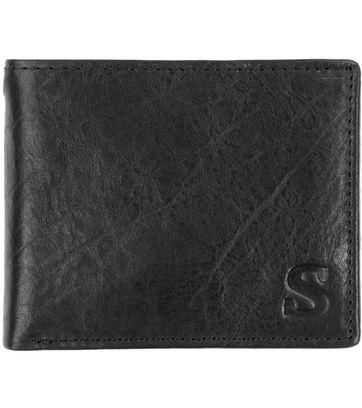 Suitable Brieftasche Dax Schwarz Leder - Skim Proof