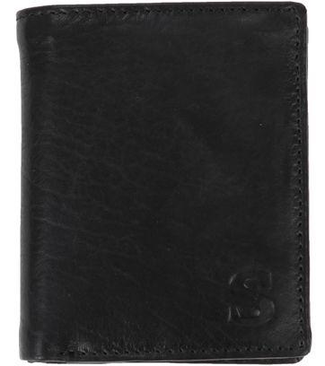 Suitable Brieftasche Nikkei Schwarz Leder - Skim Proof