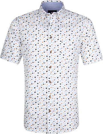 Suitable Cas Overhemd Spatten Wit