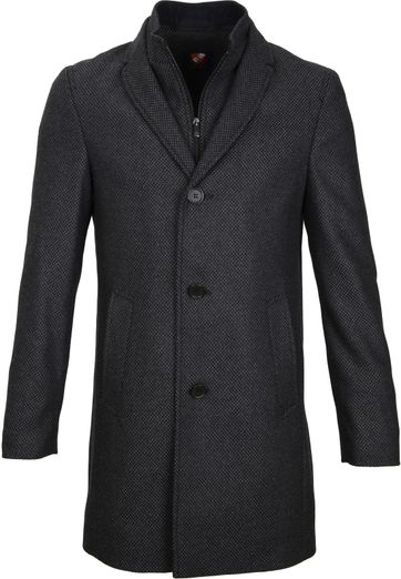 Suitable Coat Hans Diamond Grey