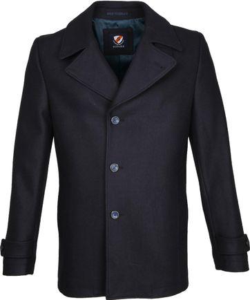 Suitable Coat Spaarne Dunkelblau