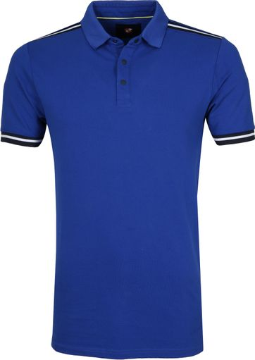 Suitable Four10 Poloshirt Blue