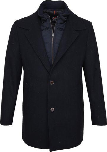 Suitable Geke Coat Dunkelblau