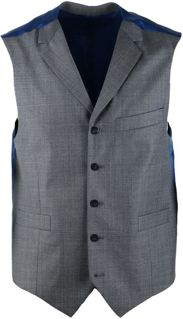 Suitable Gilet Evans Grey