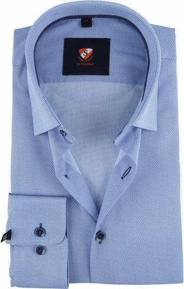 Suitable Hemd HBD Punkte Blau