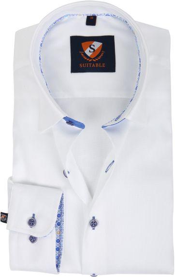 Suitable Hemd Weiß 181-1