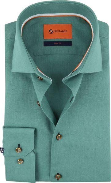 Suitable Hemd WS Grün