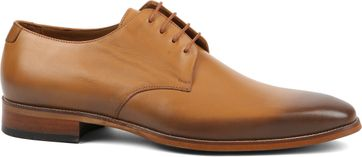 Suitable Herrenschuhe Leder Cognac