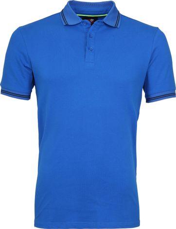 Suitable Jason Polo Stretch Blauw