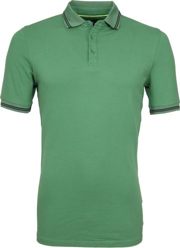 Suitable Jason Poloshirt Stretch Green