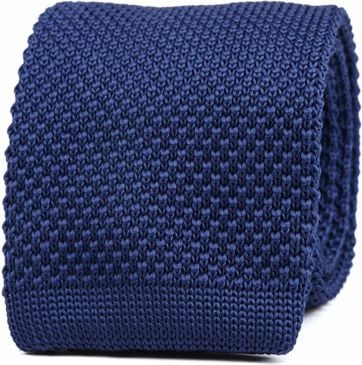Suitable Knitted Stropdas Navy