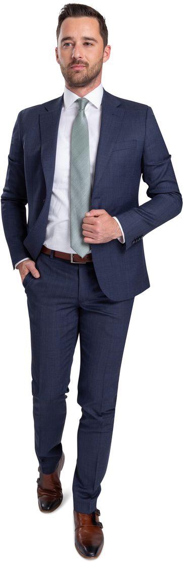 Suitable Kostuum Strato Donkerblauw