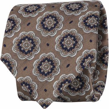 Suitable Krawatte Braun F01-08