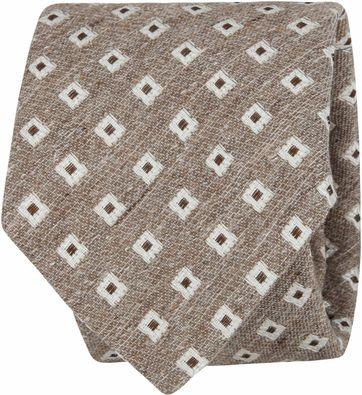 Suitable Krawatte Braun F01-15