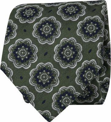 Suitable Krawatte Dunkelgrün F01-10
