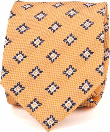 Suitable Krawatte Progetto Dessin Orange