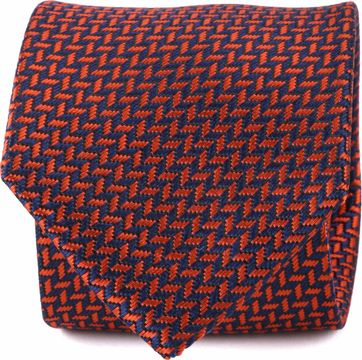 Suitable Krawatte Rot Druck