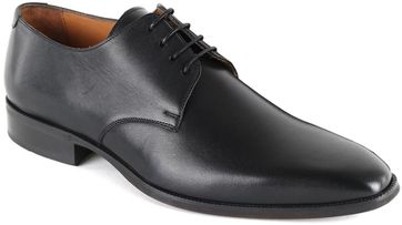 Suitable Leather Derby Shoe Black