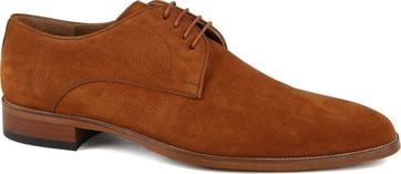 Suitable Leather Shoe Cognac 740