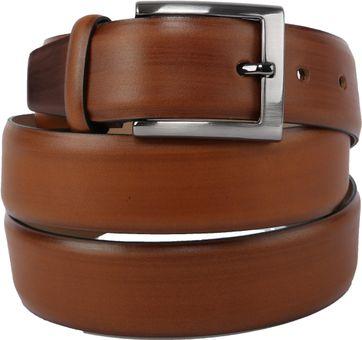 Suitable Ledergürtel Cognac Braun