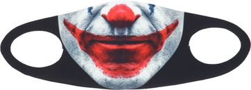 Suitable Mouth Mask Print Joker