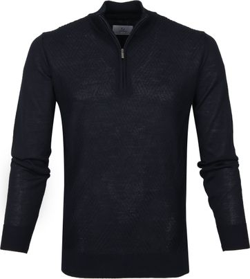 Suitable Navy Prestige Cardigan