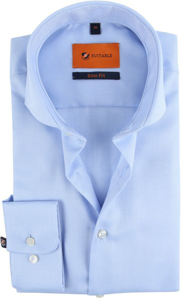 Suitable Non Iron Shirt Blue
