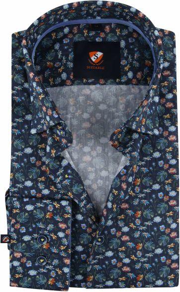 Suitable Overhemd HBD Boeket Navy