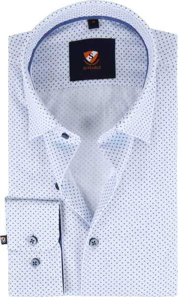Suitable Overhemd HBD SF Lichtblauw
