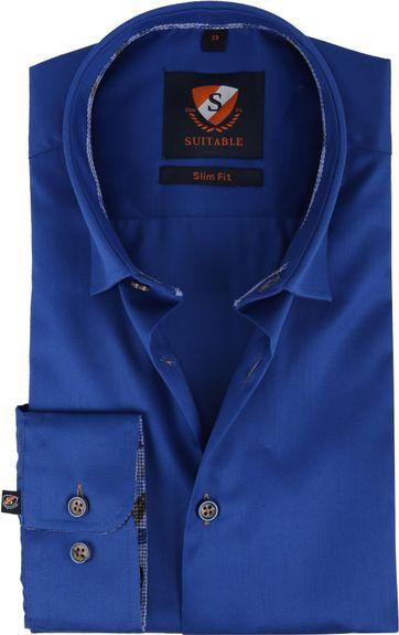 Suitable Overhemd HBD Smart Kobalt