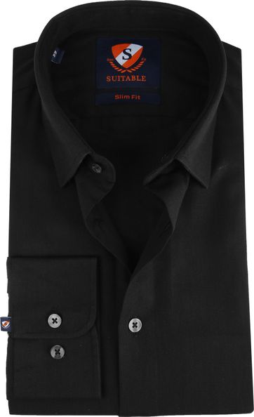Suitable Overhemd HBD Wesley Zwart
