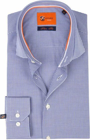 Suitable Overhemd Ruit D82-01