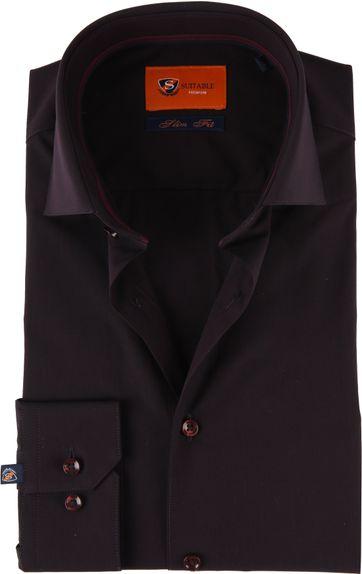 Suitable Overhemd SF Aubergine
